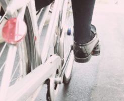 通学、自転車、女子