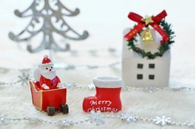 クリスマス、サンタ