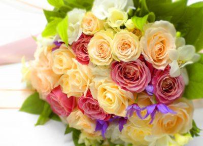 薔薇、花束