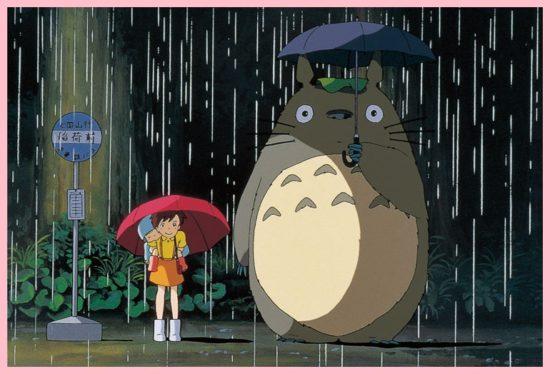 となりのトトロ,バス停,雨,サツキとメイ,トトロ