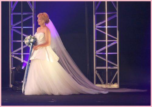 丸山桂里奈,ウェディングドレス