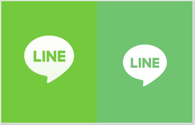 LINE,アップデート,色,変わった